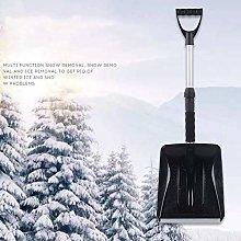 Snow Shovel, Telescopic Shovel, Multifunction Mini