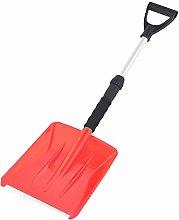 Snow Shovel with Telescopic D Grip Handle,Portable
