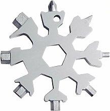 Snow Tool 18 EN 1 Stainless Steel Multifunction