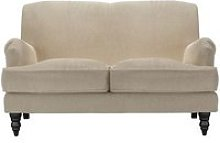 Snowdrop 2 Seat Sofa in Cashew Baylee Viscose Linen