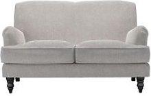 Snowdrop 2 Seat Sofa in Rye Baylee Viscose Linen