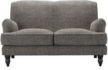Snowdrop 2 Seat Sofa in Tribal Silver Antiqued