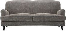 Snowdrop 3 Seat Sofa in Tribal Silver Antiqued