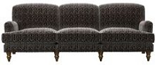 Snowdrop 4 Seat Sofa in Dark Natural Leopard