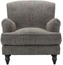 Snowdrop Armchair in Tribal Silver Antiqued Weave