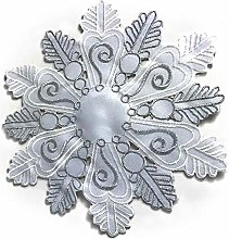 Snowflake Design Doilies Festive Christmas Xmas
