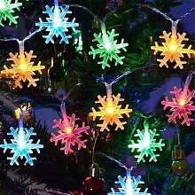 Snowflake Fairy Lights 5M 50Pcs Led String Lights
