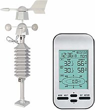 SNOWINSPRING 433Mhz Weather Station Clock with