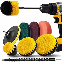 SNOWINSPRING Drill Brush Attachment Set -Drill