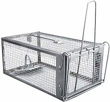 SNOWINSPRING Mouse Rat Trap Cage Live Animal Pest