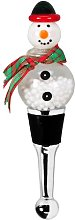 Snowman Bottle Stopper Edzard