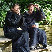 Snug Rug Outdoor Blanket with Sleeves Waterproof