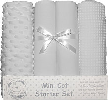 Snuggle Baby Mini Cot Starter Set (4 Pieces) (One