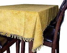 Snugglemore 100% Pure Cotton Chenille Table Covers