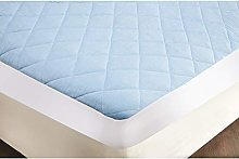 Snugglemore King Size Cool Blue Gel Luxury Quilted