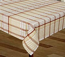 Snugglemore Seersucker Tablecloth/Napkins 100%