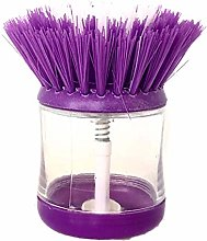 Soap Dispensing Washing Up Scrubber Cleaning Brush