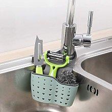Soap Sponge Drainer Hanging Basket ? Sink Hanging