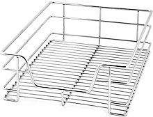 Soapow Pull Out Wire Basket Kitchen Cabinet