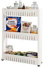SoBuy 3 Tiers Slide Out Storage Tower,FRG40-W