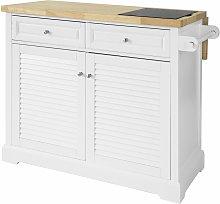 SoBuy Extendable Kitchen Storage Trolley Kitchen