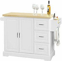 SoBuy® FKW41-WN, Extendable Kitchen Cabinet