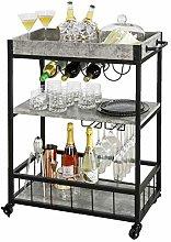 SoBuy® FKW56-HG, Modern Design 3 Tiers Kitchen