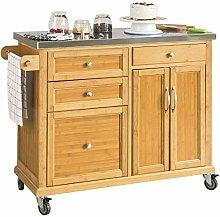 SoBuy® FKW70-N, Kitchen Storage Trolley Kitchen