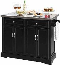 SoBuy® FKW71-SCH, Extendable Kitchen Storage