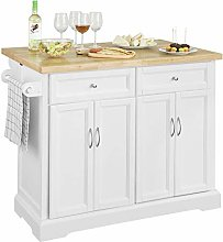 SoBuy® FKW71-WN, Extendable Kitchen Storage