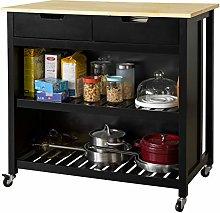 SoBuy® FKW74-SCH, Kitchen Storage Trolley Kitchen