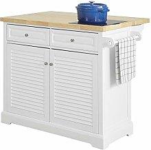 SoBuy® FKW84-WN, Extendable Kitchen Storage