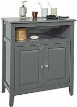 SoBuy® FRG204-DG, Grey Bathroom Storage Cabinet