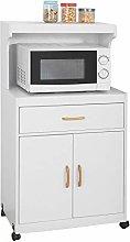 SoBuy® FSB12-W, Kitchen Storage Trolley,