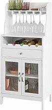 SoBuy® FSB24-W, Kitchen Dining Room Storage