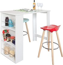 SoBuy Kitchen Dining Table,Coffee Bistro Bar Table