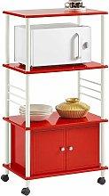 SoBuy Kitchen Storage Cabinet, Kitchen Cart,
