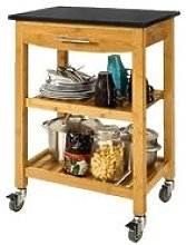 SoBuy Kitchen Storage Trolley Cart Island with