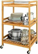 SoBuy Kitchen Storage Trolley, Tea Serving Cart,