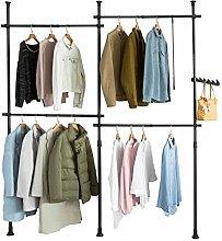 SoBuy® KLS03-SCH, Adjustable Wardrobe Organiser
