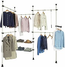 SoBuy® KLS04, Adjustable Wardrobe Organiser