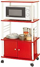 SoBuy® Microwave Shelf, Kitchen Wheeled Storage