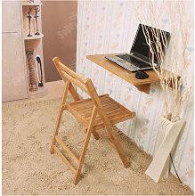 SoBuy Natural Bamboo Wall-mounted Drop-leaf Table,