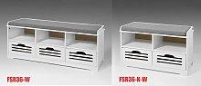 SoBuy Shoe Storage Bench with 3 Drawers & Storage