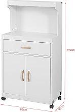 SoBuy Storage Trolley, Microwave Shelf, Sideboard