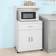 SoBuy Wheeled Kitchen Storage Cupboard