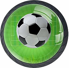 Soccer Football Field Cabinet Door Knobs Handles