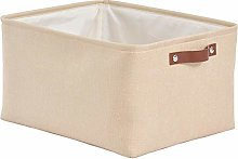 SOCOHOME Collapsible Storage Boxes, Thicken Canvas