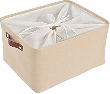 SOCOHOME Large Storage Boxes, Thicken Canvas