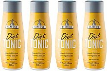 SodaStream Classics Diet Tonic Syrup, Pack of 4